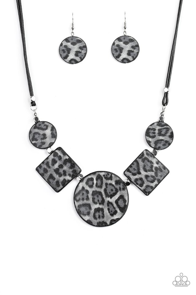 Here Kitty Kitty - Silver - Paparazzi Necklace Image