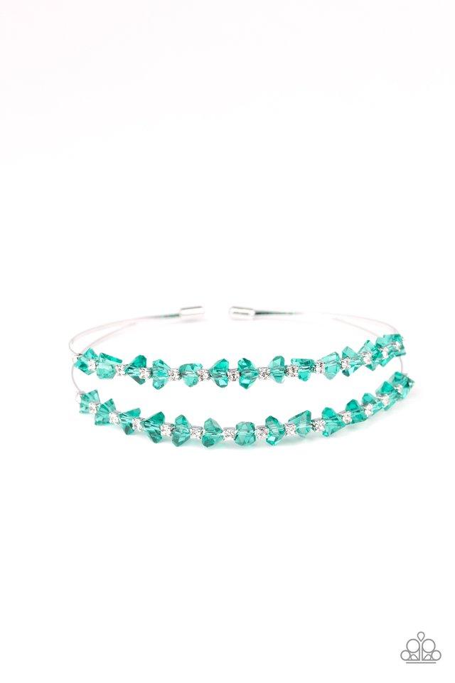 Prismatic Posh - Green - Paparazzi Bracelet Image