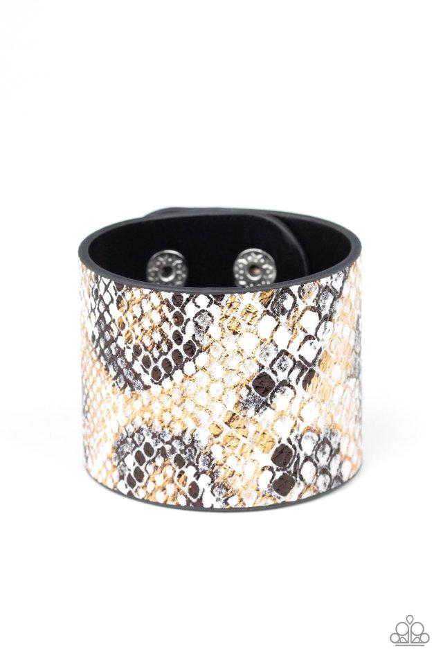 Serpent Shimmer - Multi - Paparazzi Bracelet Image