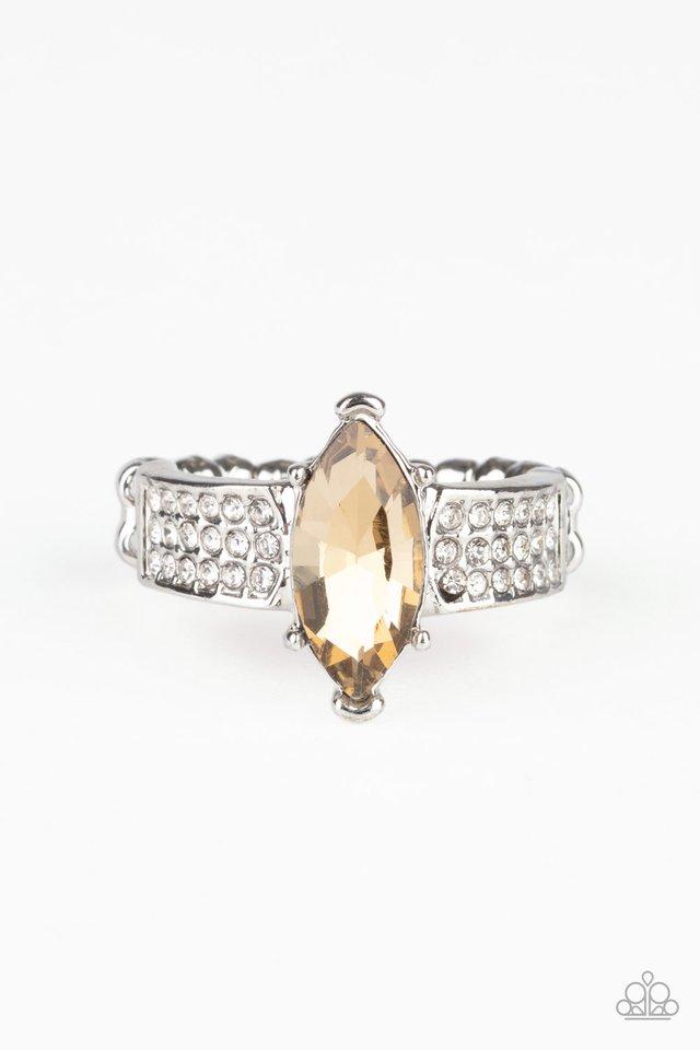 Icy Iridescence - Brown - Paparazzi Ring Image
