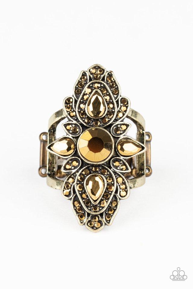Glam Demand - Brass - Paparazzi Ring Image
