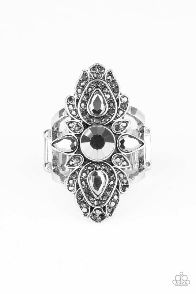Glam Demand - Silver - Paparazzi Ring Image
