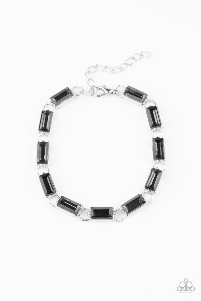 Irresistibly Icy - Silver - Paparazzi Bracelet Image