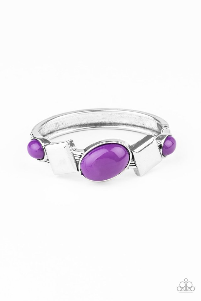 Abstract Appeal - Purple - Paparazzi Bracelet Image