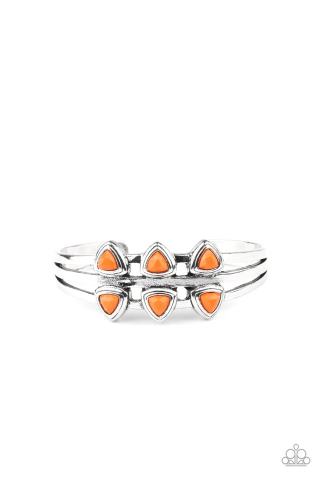 Tribal Triad - Orange - Paparazzi Bracelet Image