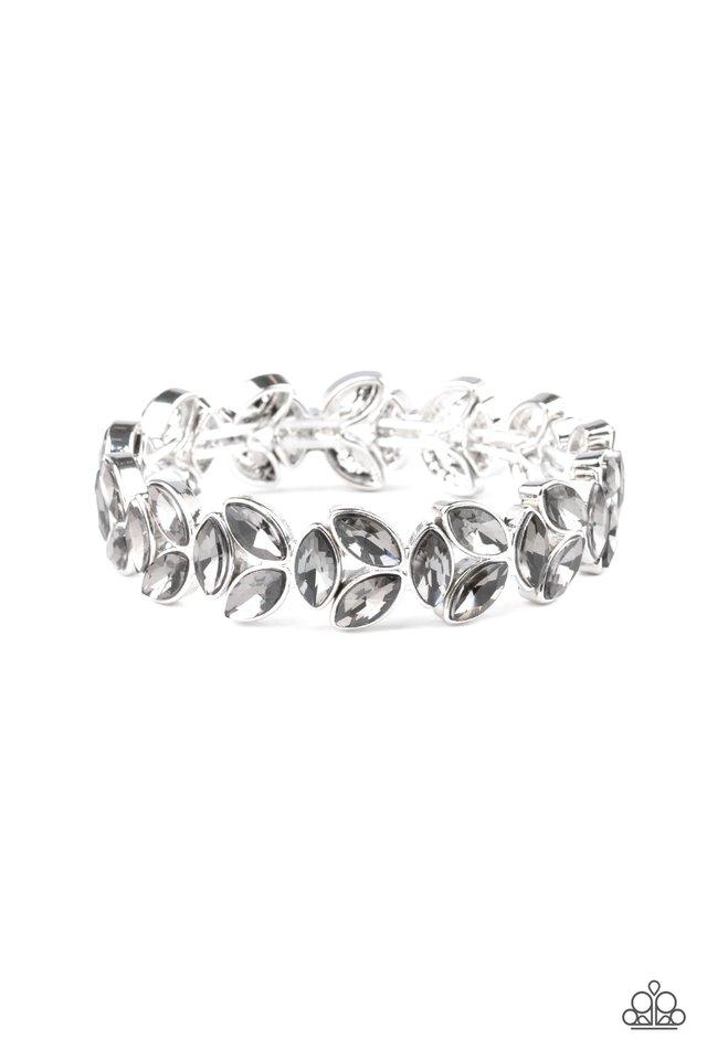 Gilded Gardens - Silver - Paparazzi Bracelet Image