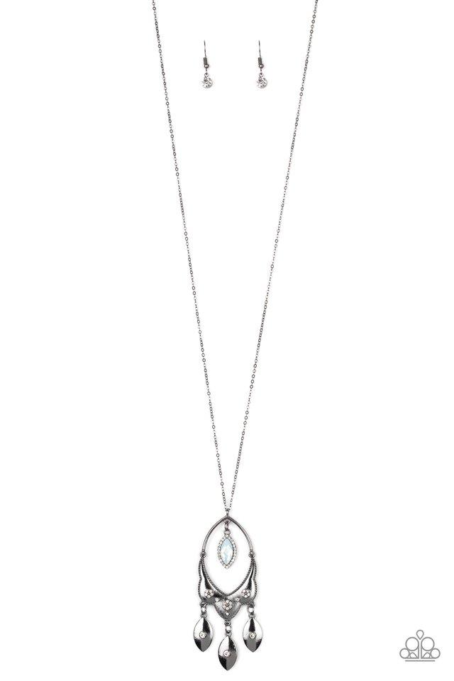 Royal Iridescence - Black - Paparazzi Necklace Image