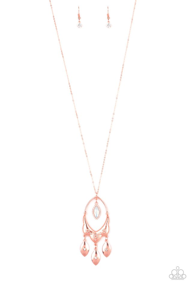 Royal Iridescence - Copper - Paparazzi Necklace Image