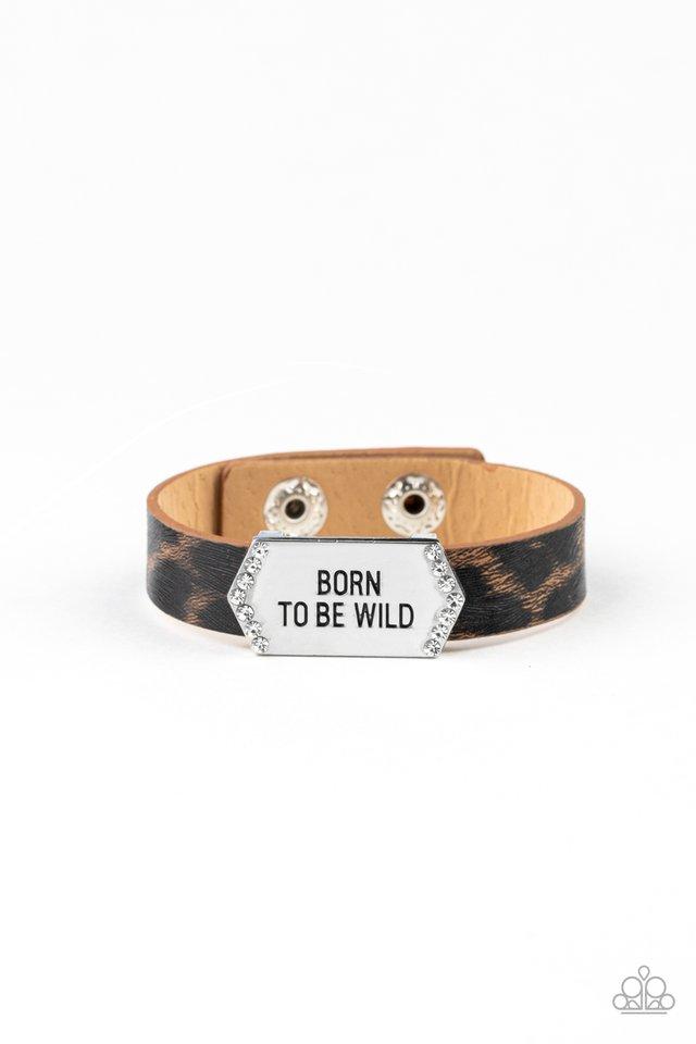 Born To Be Wild - Brown - Paparazzi Bracelet Image