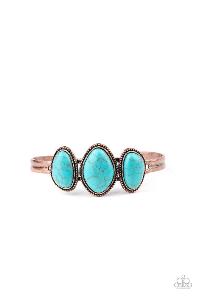 Stone Shrine - Copper - Paparazzi Bracelet Image