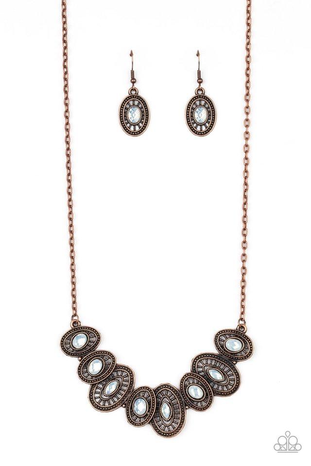 Trinket Trove - Copper - Paparazzi Necklace Image