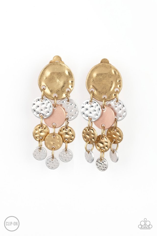 Do Chime In - Multi - Paparazzi Earring Image