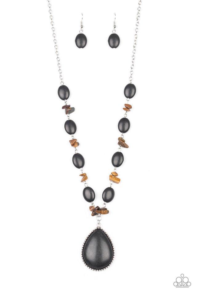 Desert Diva - Black - Paparazzi Necklace Image
