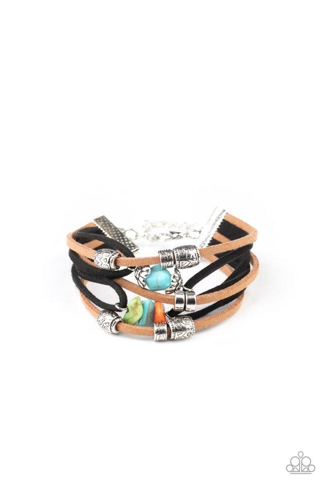 Rocky Mountain Rebel - Multi - Paparazzi Bracelet Image