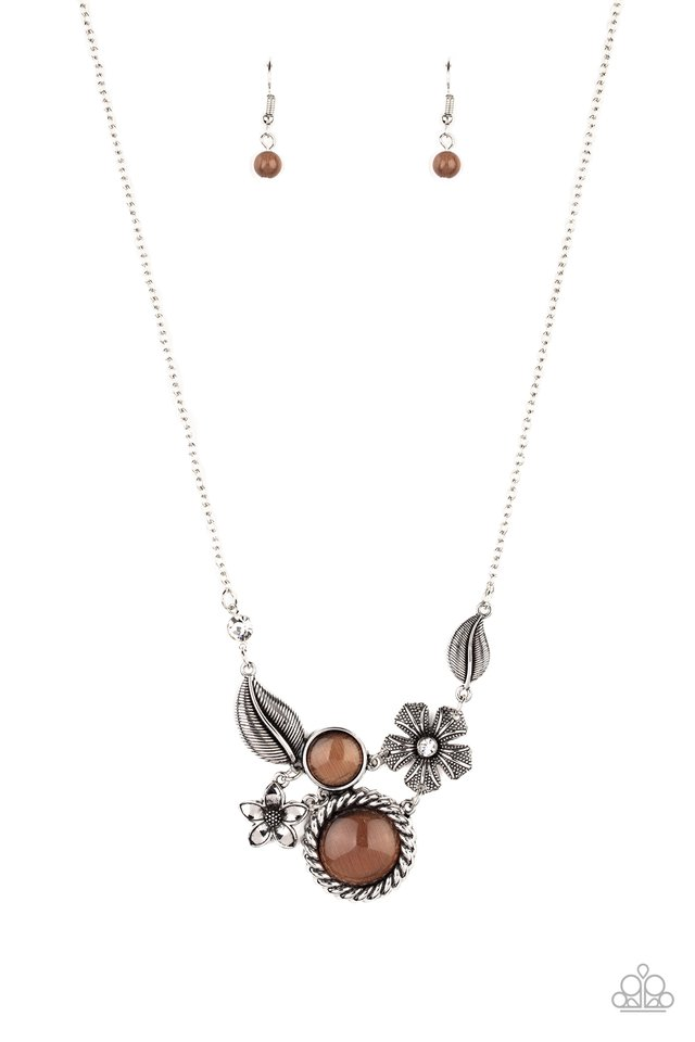 Exquisitely Eden - Brown - Paparazzi Necklace Image