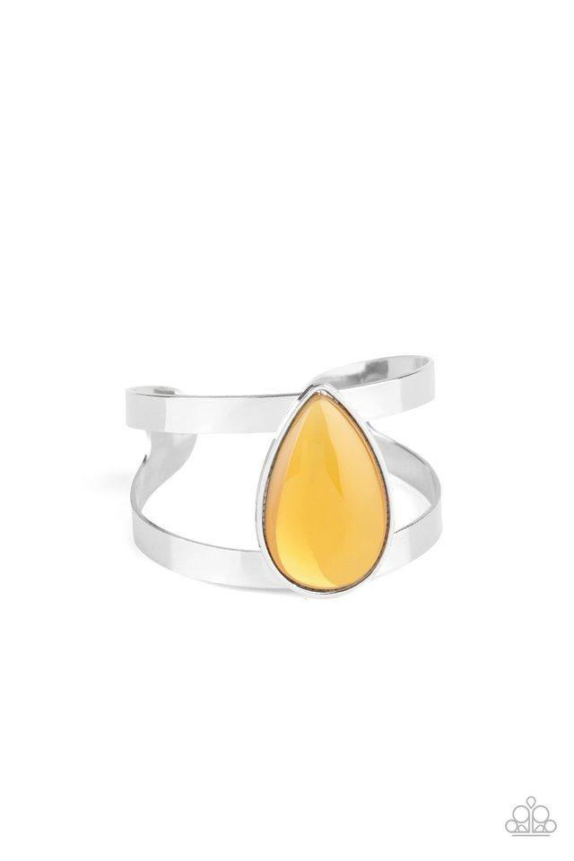 Optimal Opalescence - Yellow - Paparazzi Bracelet Image