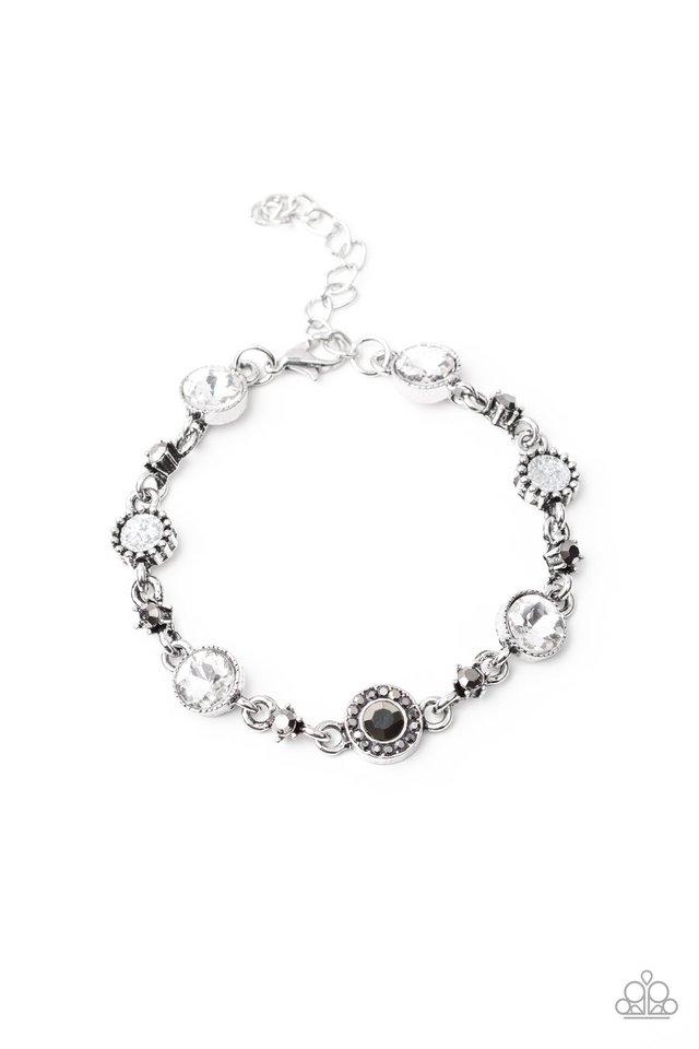 Stargazing Sparkle - White - Paparazzi Bracelet Image