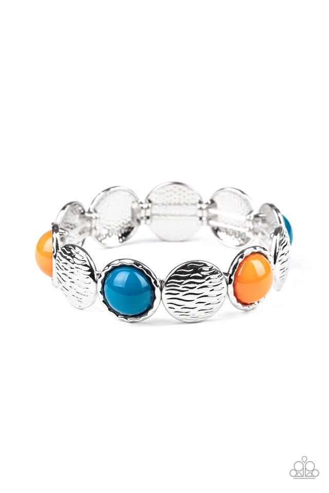 Boardwalk Boho - Multi - Paparazzi Bracelet Image
