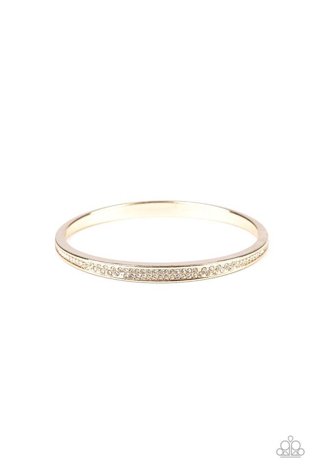 Power Move - Gold - Paparazzi Bracelet Image