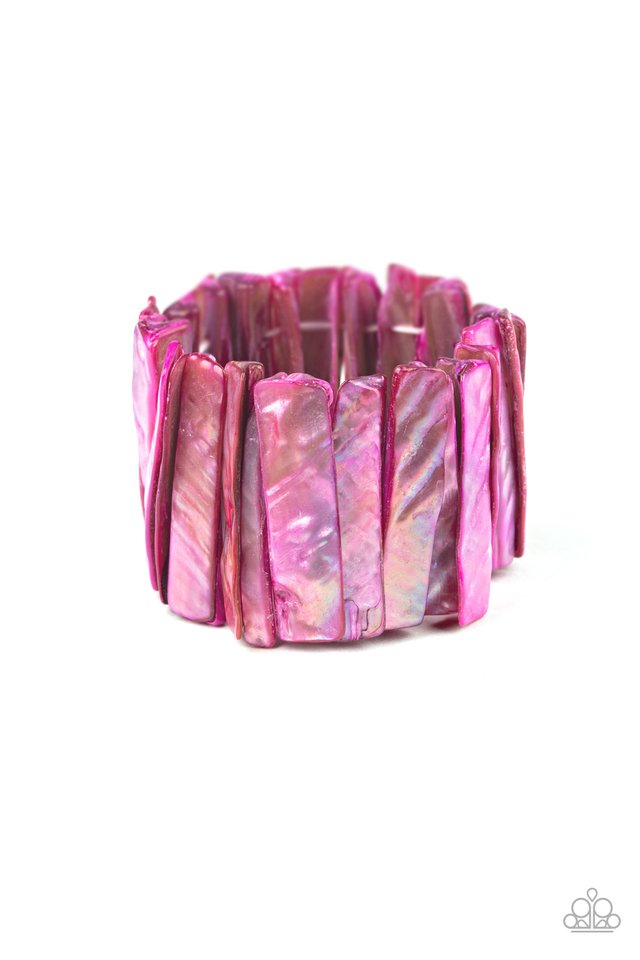 Beach Blast - Pink - Paparazzi Bracelet Image