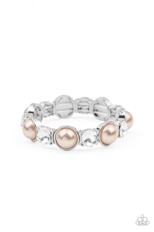 Elegant Entertainment - Brown - Paparazzi Bracelet Image