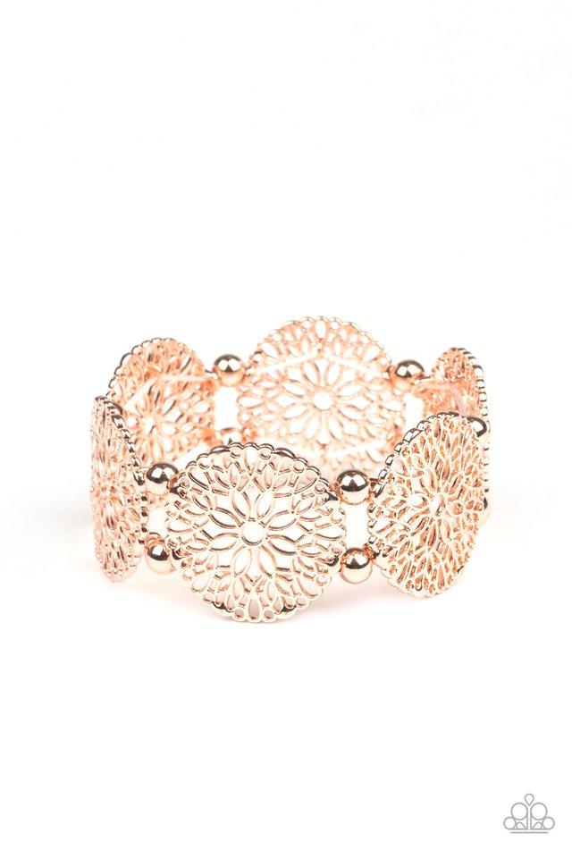 A Good MANDALA Is Hard To Find - Rose Gold - Paparazzi Bracelet Image