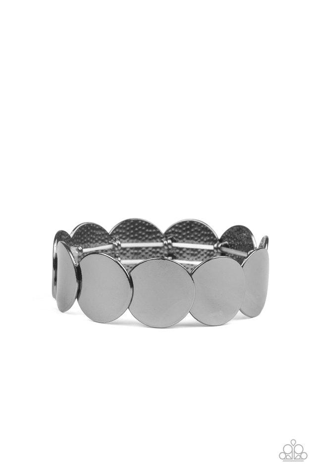 Industrial Influencer - Black - Paparazzi Bracelet Image