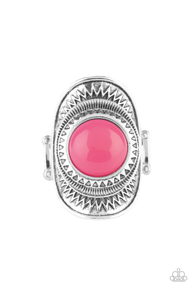 Sunny Sensations - Pink - Paparazzi Ring Image
