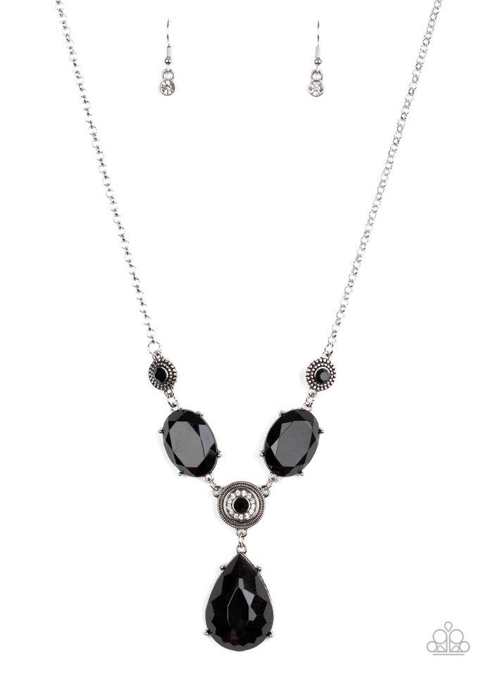 Heirloom Hideaway - Black - Paparazzi Necklace Image