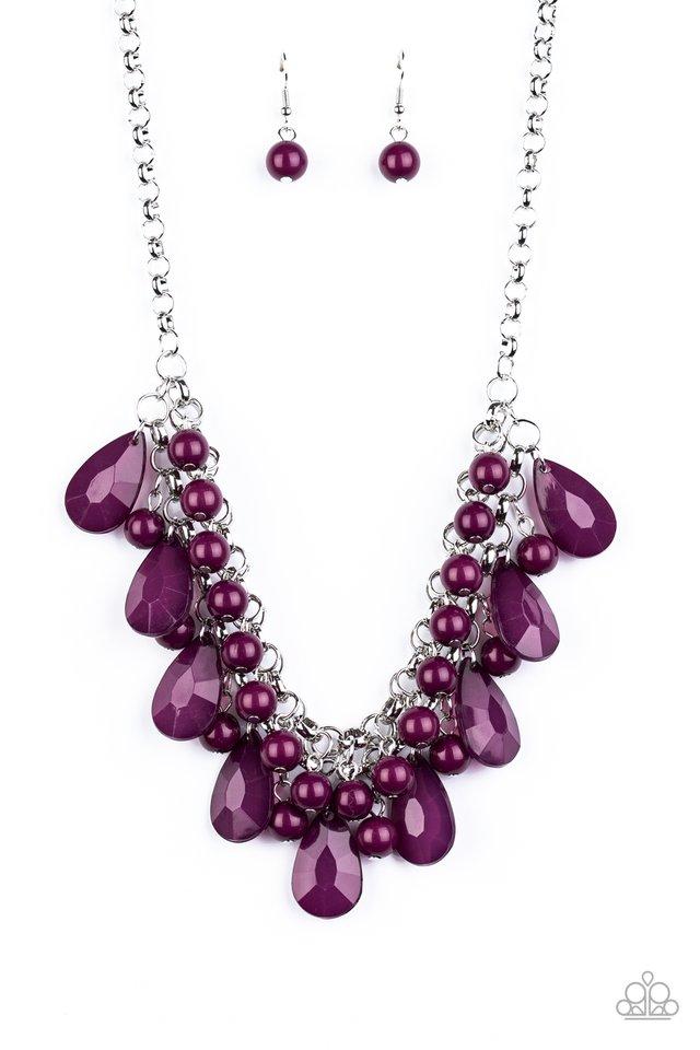 Endless Effervescence - Purple - Paparazzi Necklace Image