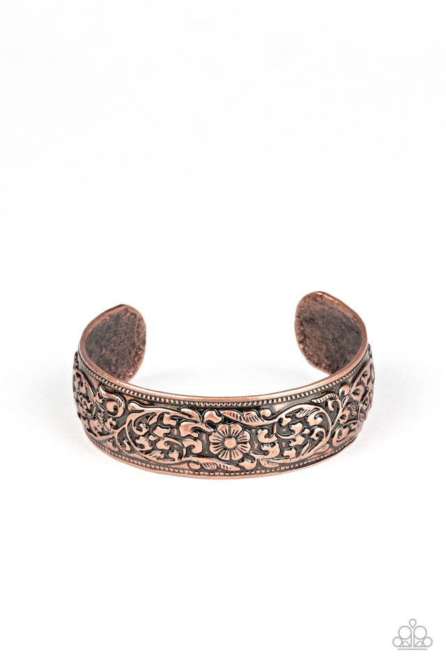 Garden Tropic - Copper - Paparazzi Bracelet Image