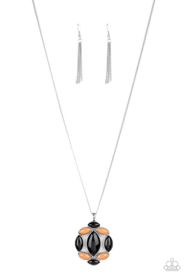 Chromatic Cache - Black - Paparazzi Necklace Image