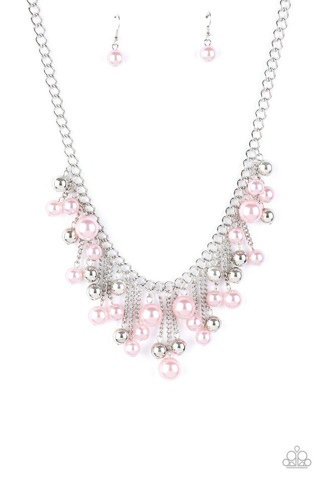 City Celebrity - Pink - Paparazzi Necklace Image