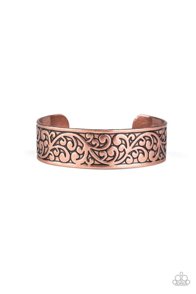 Read The VINE Print - Copper - Paparazzi Bracelet Image