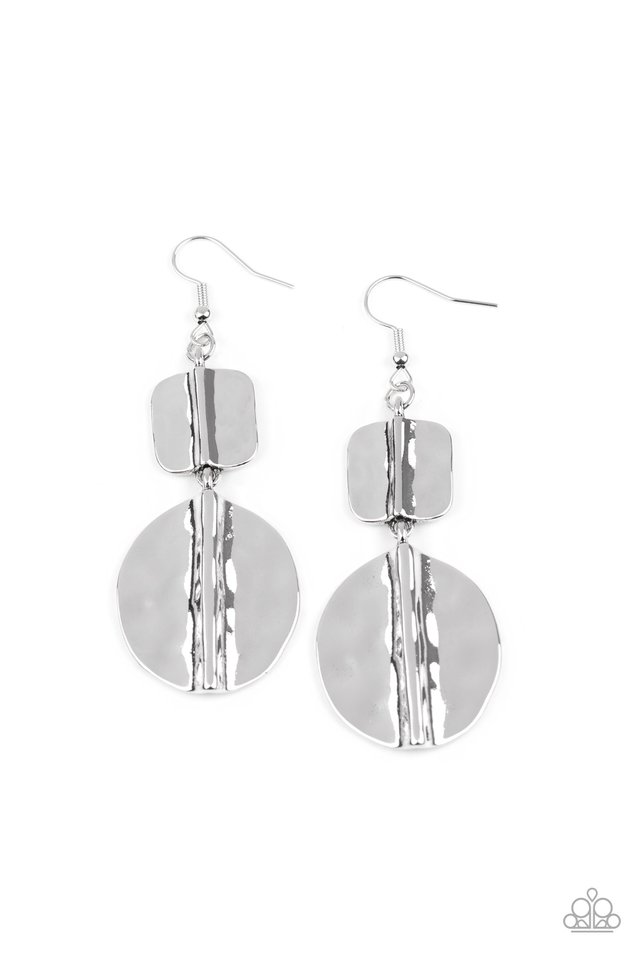 Lure Allure - Silver - Paparazzi Earring Image