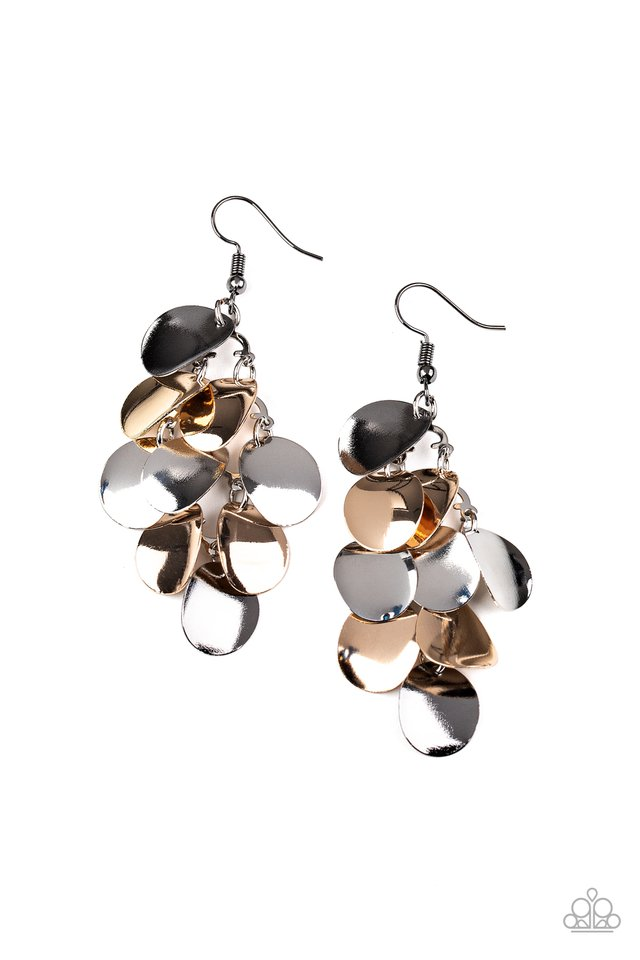 Resplendent Reflection - Multi - Paparazzi Earring Image