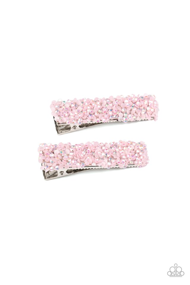HAIR Comes Trouble - Pink - Paparazzi Hair Accessories Image