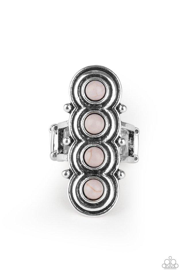 Terra Trinket - Silver - Paparazzi Ring Image