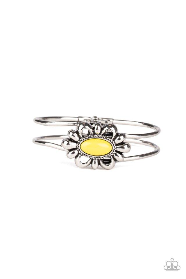 Serene Succulent - Yellow - Paparazzi Bracelet Image