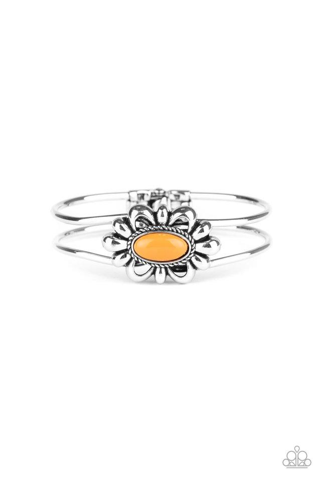 Serene Succulent - Orange - Paparazzi Bracelet Image