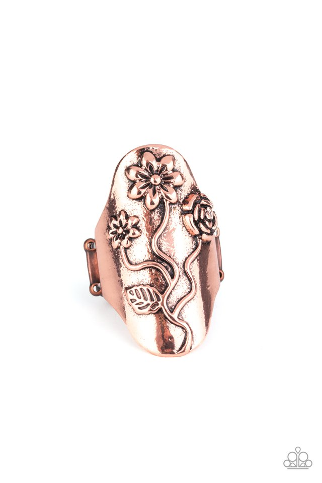 Garden Soul - Copper - Paparazzi Ring Image