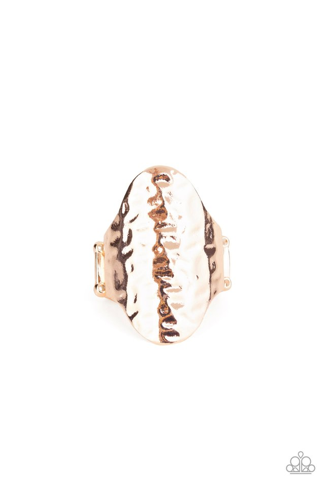 Revamped Ripple - Rose Gold - Paparazzi Ring Image
