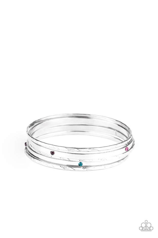 Be There With Baubles On - Multi - Paparazzi Bracelet Image