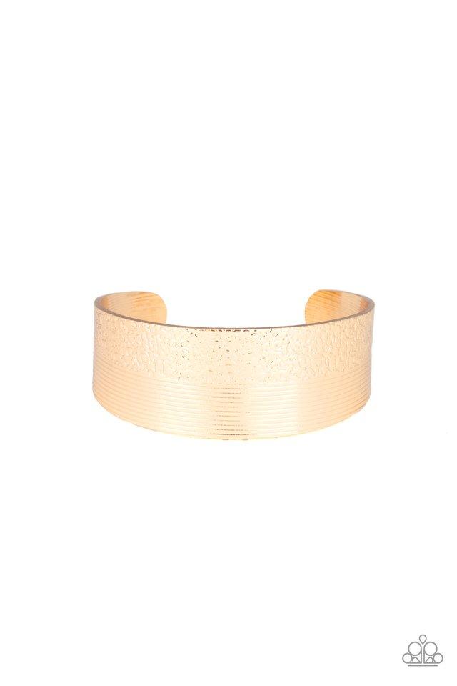 Mixed Vibes - Gold - Paparazzi Bracelet Image