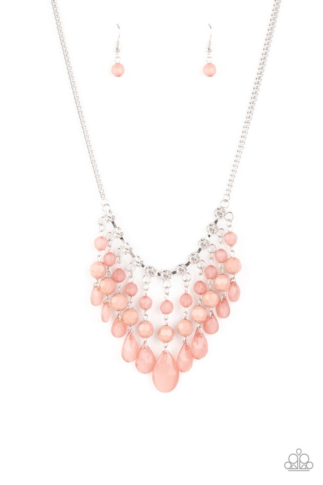 Social Network - Pink - Paparazzi Necklace Image