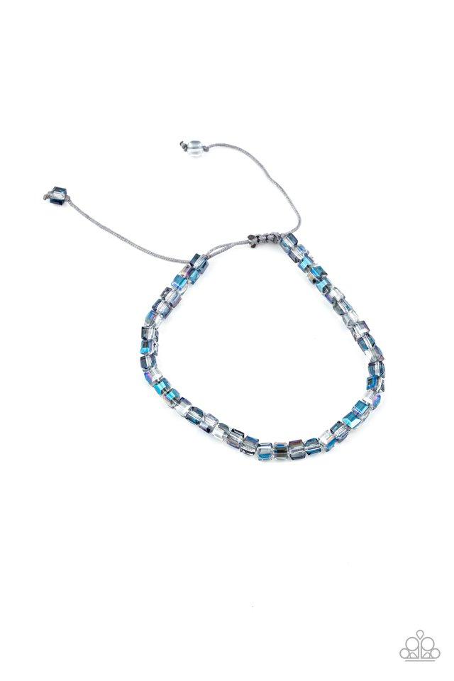 Prismatic Maverick - Blue - Paparazzi Bracelet Image