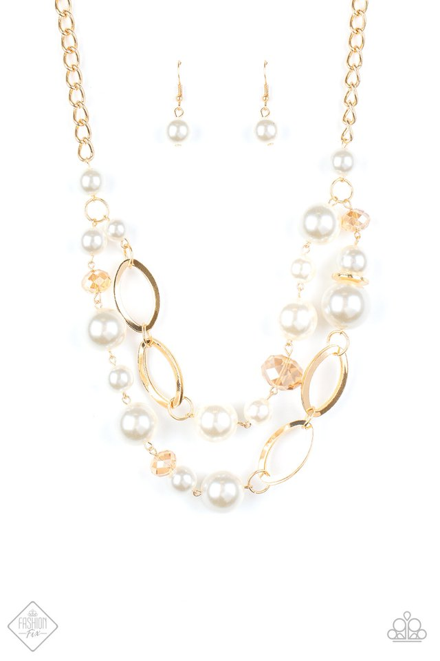 High Roller Status - Gold - Paparazzi Necklace Image