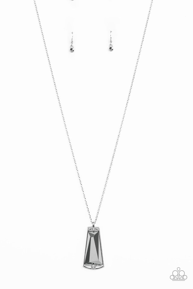 Empire State Elegance - Silver - Paparazzi Necklace Image