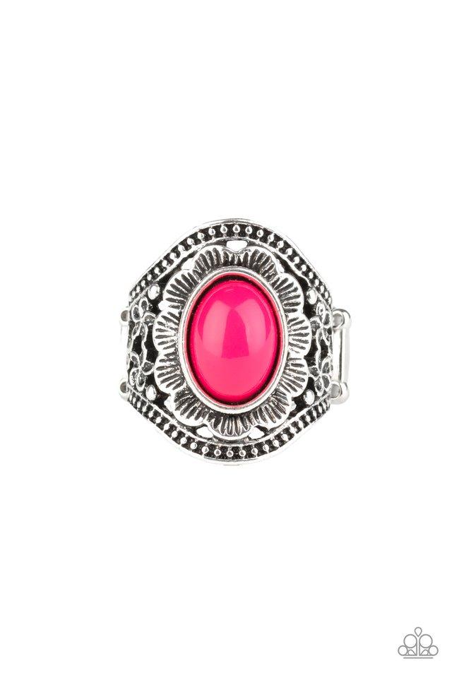 Garden Tranquility - Pink - Paparazzi Ring Image