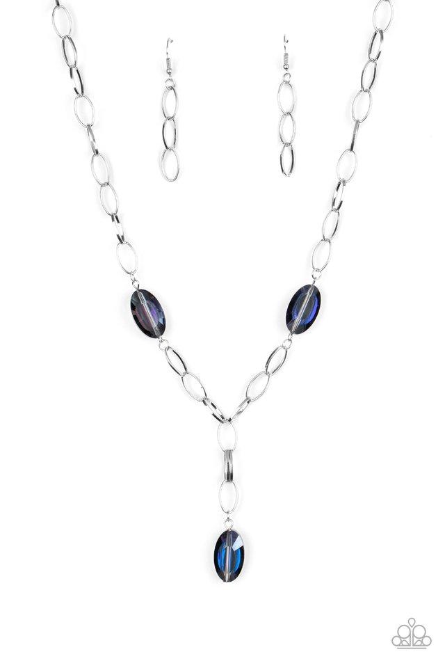 Power Up - Purple - Paparazzi Necklace Image